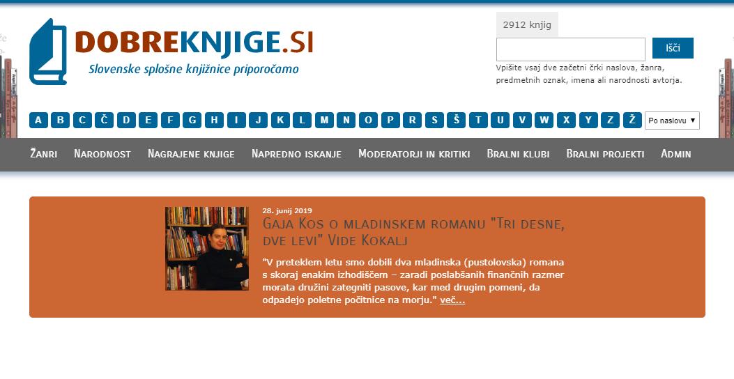 Spletni portal dobreknjige.si